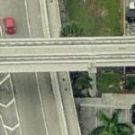 Location of Miami Cannibal Attack