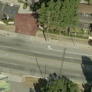 Location of the Rodney King Beating (Birds Eye)