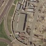 Future Site of the September 11th Pentagon Memorial (Bing Maps)