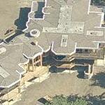 50,000 square foot mansion never finished (Bing Maps)
