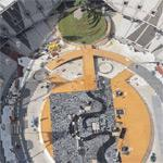 Olympic Games' opening ceremonies preperations (Birds Eye)