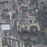Gas Industry Museum in Warsaw (Bing Maps)
