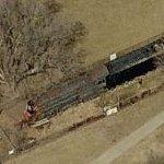 Atchison, Topeka & Santa Fe Railway #3463 (Birds Eye)
