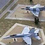 Aviation Heritage Park at Naval Air Station Oceana (Bing Maps)
