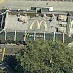 McDonald's logo on roof (Bing Maps)