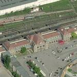 Arad railway station (Birds Eye)