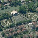 Rosegarden and open-air theater (Birds Eye)