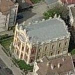 Sibiu Grand Synagogue (Birds Eye)