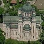 Madona Dudu church (Birds Eye)