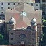 Synagogue in the Castle district (Birds Eye)