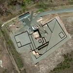 Osama bin Laden Raid Compound Mock-up (Bing Maps)