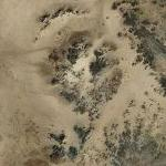 New Found Kebira Crater Between Egypt and Libya (Bing Maps)