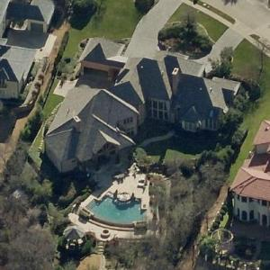 Juwan Howard's House (Birds Eye)