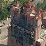 Disney MGM Studio's Hollywood Tower of Terror (Birds Eye)