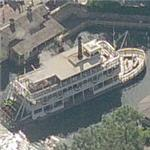 Disney World's Liberty Belle paddlewheel riverboat (Birds Eye)