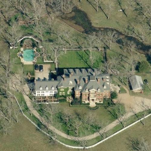 Bruce Matthews' House in Sugar Land, TX (Bing Maps)
