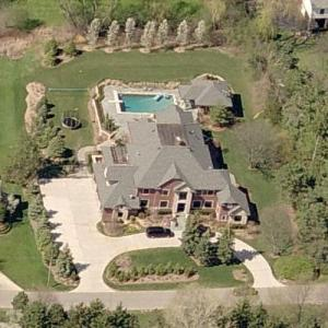 Chris Chelios' House (Birds Eye)