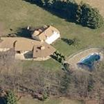 Chuck Bednarik's House (Birds Eye)
