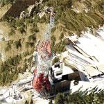 Sandia Crest Tower Site (Bing Maps)