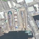 Imperial Japanese navy drydock