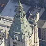 The Woolworth Building (Birds Eye)