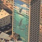 Wyland Whale Mural - 'Whale Tower'