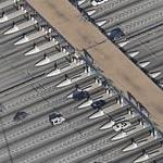 Fort McHenry Tunnel toll plaza - Interstate 95 (Birds Eye)