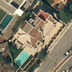 Shakira and Gerard Piqué's house (Bing Maps)