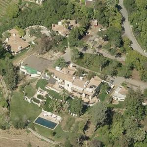 Steven Spielberg's House (Birds Eye)