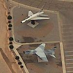 F-100 and an A-7 (Birds Eye)