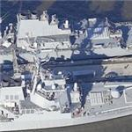 Two Arleigh Burke Class Destroyers