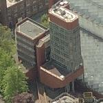 'Engineering Building' by Sir James Stirling (Birds Eye)