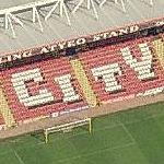 Bristol City - Ashton Gate (Bing Maps)