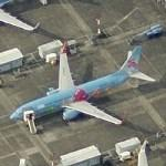 Boeing 737, 4th special livery for Universiade 2011 (Birds Eye)