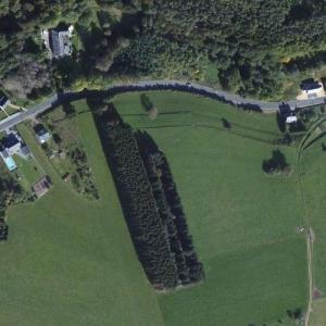 Chatillon Car Graveyard (Bing Maps)