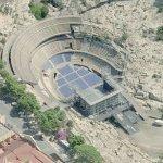 Roman Amphitheater Cagliari (Bing Maps)