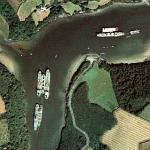 Ships on River Fal (Bing Maps)