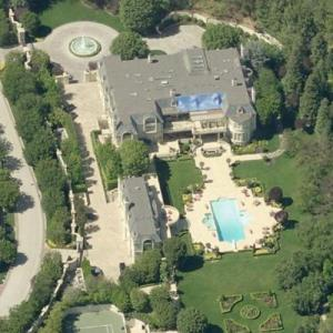 Denzel Washington's House (Birds Eye)