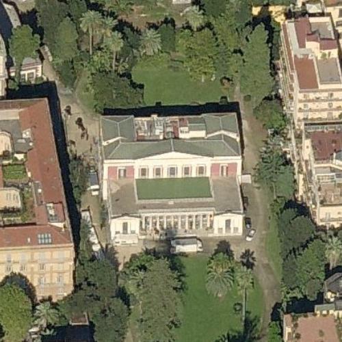 Villa Pignatelli Carl Mayer Von Rothschild Estate In