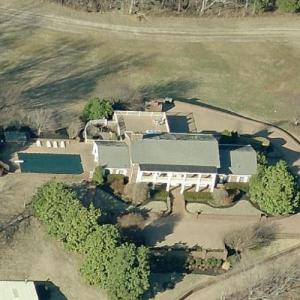 Garth Brooks & Trisha Yearwood's House (Birds Eye)