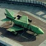 Training airliner mockup
