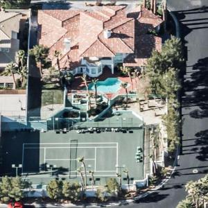 Andre Agassi's House (Bing Maps)