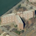 Building 877 on Governors Island (Birds Eye)