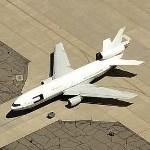 DC-10, N910SF, Widebody Airborne Sensor Platform (WASP) (Birds Eye)