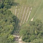 Abandoned toboggan chutes (Birds Eye)