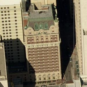 Adolphus Hotel (Birds Eye)