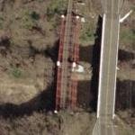 Bollman Suspension Truss Bridge (Bing Maps)