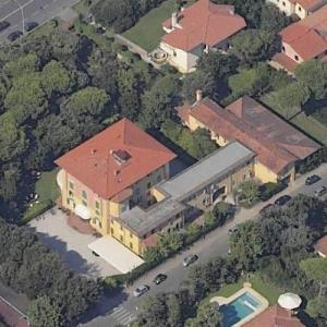 Agnelli Family House (former) (Birds Eye)