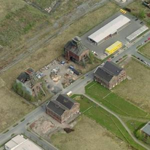 Abandoned Radbod Colliery (Birds Eye)
