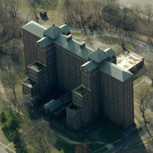 Abandoned Kings Park Psychiatric Center (Birds Eye)